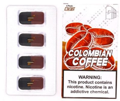 REFIL SKOL COLOMBIAN COFFEE - COMPATÍVEL COM O JUUL