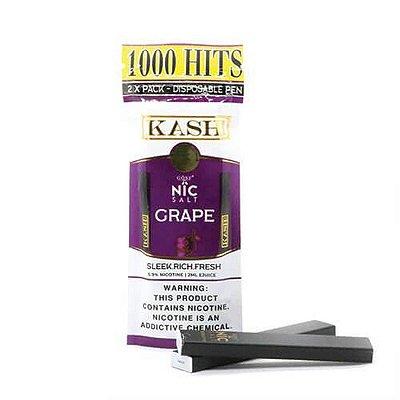 KASH BY GOST - GRAPE - DISPOSABLE VAPE 2 X PACK (DESCARTAVEL) - 5,9% SALT NIC - 2ML