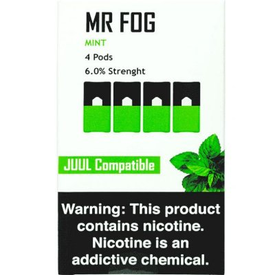 MR FOG MINT- JUUL COMPATIBLE