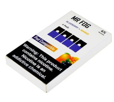 MR FOG BLUEBERRY+MANGO - 6% NICOTINE SALT