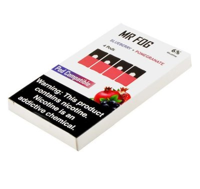 MR FOG BLUEBERRY+POMEGRANATE- JUUL COMPATIBLE 6% NICOTINE SALT