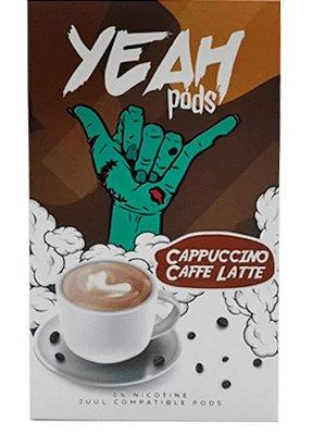 YEAH PODS - CAPPUCCINO COFFE LATTE - COMPATÍVEL COM JUUL