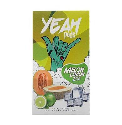 YEAH PODS - MELON LEMON ICE - COMPATÍVEL COM JUUL