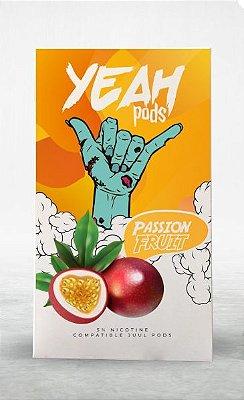 YEAH PODS - PASSION FRUIT - COMPATÍVEL COM JUUL