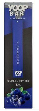 YOOP BAR DISPOSABLE POD DEVICE 50MG NIC SALT - DESCARTAVEL- BLUEBERRY ICE