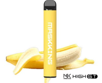 MK - MASKKING HIGH 2,0 -  DESCARTAVEL - BANANA ICE