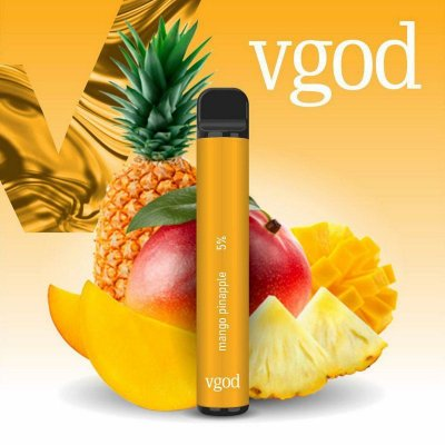 VGOD POD DESCARTAVEL NICSALT 50MG - MANGO PINEAPPLE - 1000 PUFFS