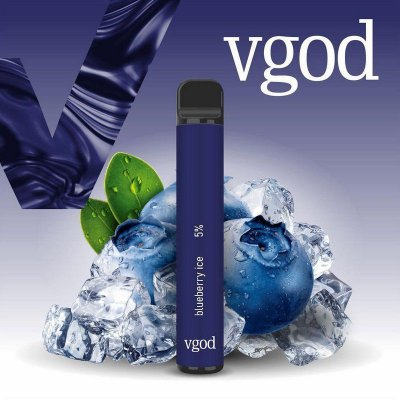VGOD POD DESCARTAVEL NICSALT 50MG - BLUEBERRY ICE - 1000 PUFFS