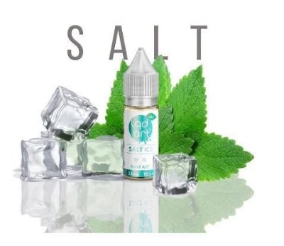 LIQUIDO JUICE SALT ICE - MINT ART - LQD ART - 16,5ML