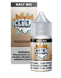 LIQUIDO ICEBERG VAPORS SALT NIC 35MG- VIRGINIA TOBACCO - 30ML