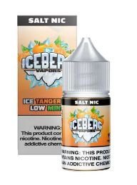LIQUIDO ICEBERG VAPORS SALT NIC 35MG- ICE TANGERINE LOW MINT - 30ML