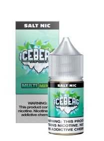 LIQUIDO ICEBERG VAPORS SALT NIC 35MG- MULTI MINT - 30ML