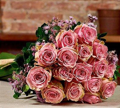 Buquê de rosas colombianas