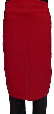 Avental Passador Vermelho 100% Poliéster