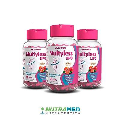 Multyless Lipo - Kit 3 unidades