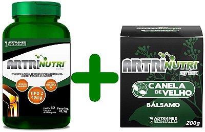 Artrinutri Kit - Cápsulas + Gel Balsâmico