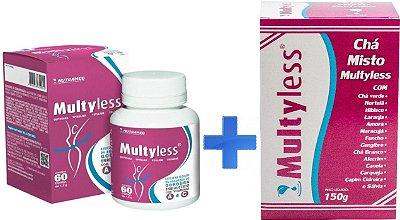 Multyless Kit 1 - Comprimidos + Chá 150g