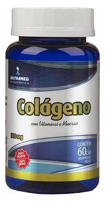 Colágeno Hidrolisado + Vitaminas e Mineirais - 60 cápsulas