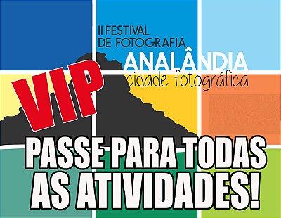 PASSE VIP - TODAS AS ATIVIDADES