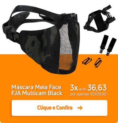 Mascara Mei Face FJA Multicam Black