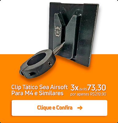 CLIP TÁTICO PARA AIRSOFT COMPATÍVEL COM A LINHA M4 e HK416