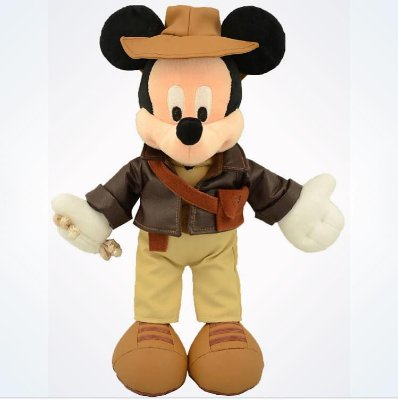 Mickey pelucia Indiana Jones