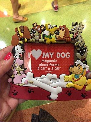 Porta Retrato Magnetico I Love my Dog