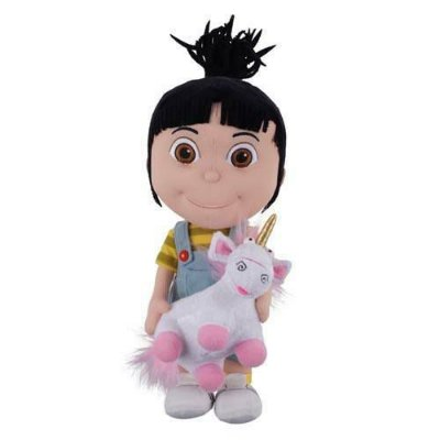 Pelucia Agnes com Unicornio Minions