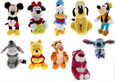 Agarradinho de pelúcia Disney Parks - diversos modelos
