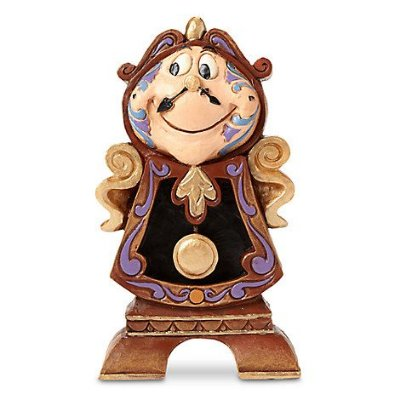 Horloge - Cogsworth figurine Bela e a Fera by Jim Shore
