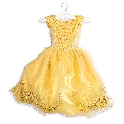 Vestido Bela Disney Store infantil