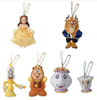 Chaveiro de Pelúcia Bela e a Fera Disneyland Tokyo - Escolha abaixo modelo