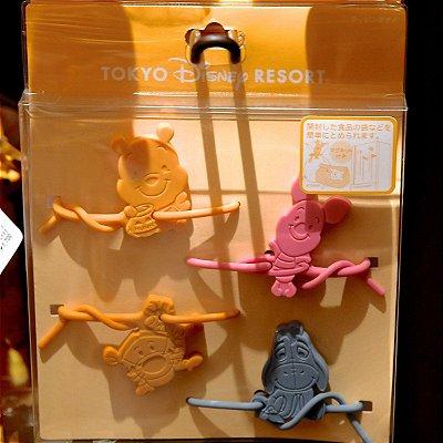 Lacres para Embalagens Pooh Disneyland Tokyo