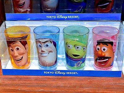 Conjunto de copos Toy Story