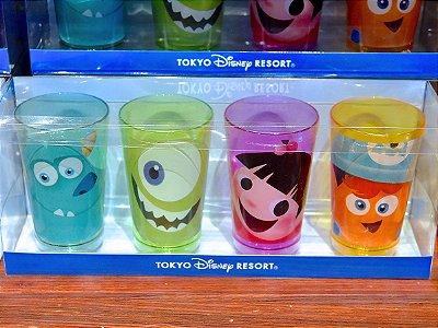 Conjunto de copos Monstros S.A