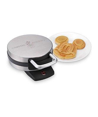 Maquina de waffle do Mickey modelo prata