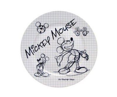 Prato de salada Mickey