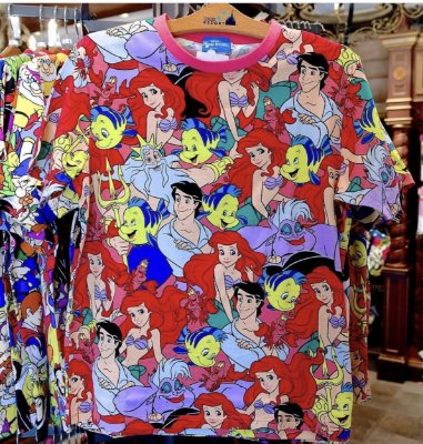 Camiseta Ariel Toy Story Bela e a Fera Peter Pan Branca de Neve Dory Pooh Aladdin- escolha modelo
