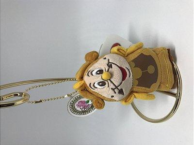 Chaveiro Horloge Cogsworth Disney Japão