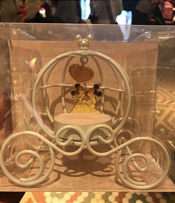 Porta aliança Mickey e Minnie noivos