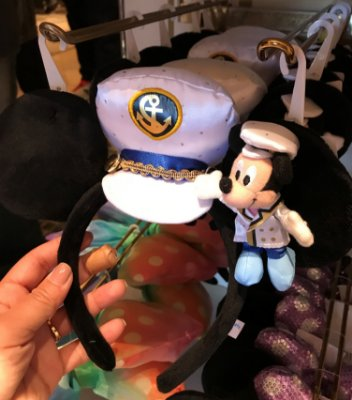 Tiara Orelha Mickey ou Minnie Disney Sea