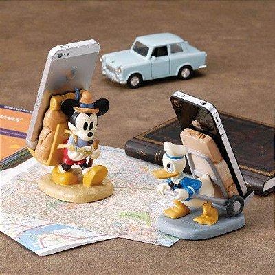Stand porta celular ou bloco de notas Mickey, Pato Donald, Minnie, Et ou Buzz Toy Story