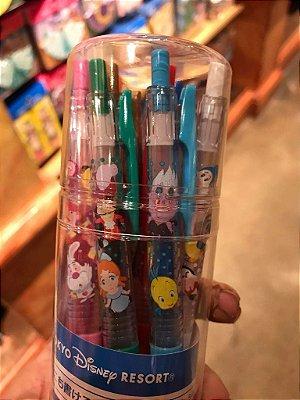 Kit de canetas personagens Disney