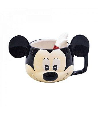 Caneca Mickey com colher