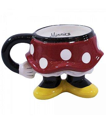 Caneca Minnie bundinha - Produto Licenciado Disney
