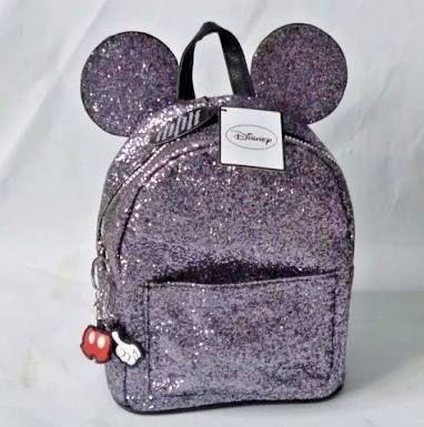 Mochila Mickey com glitter Primark UK