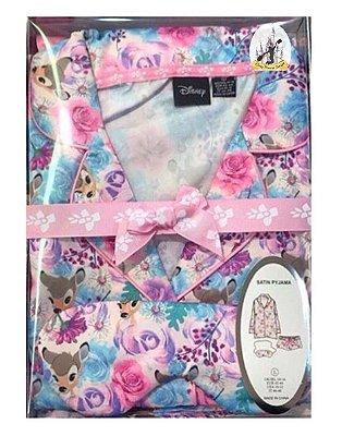 Kit Pijama de cetim Bambi Primark UK