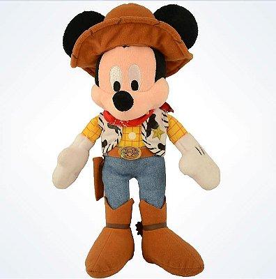 Mickey Woody Pelúcia Disney Parks
