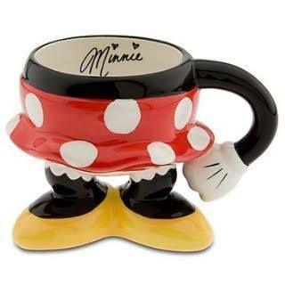 Caneca Minnie Bundinha Disney Parks