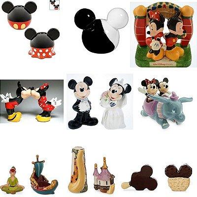 Saleiro e Pimenteiro Disney Parks -  Modelos Variados CLIQUE
